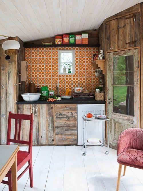 10 trucos para decorar cocinas rusticas 5