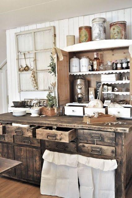 10 trucos para decorar cocinas r sticas cocinas con encanto - Cocinas camperas rusticas ...