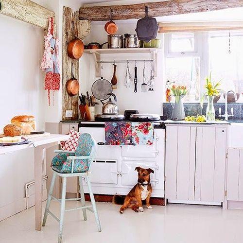 10 trucos para decorar cocinas rusticas 7