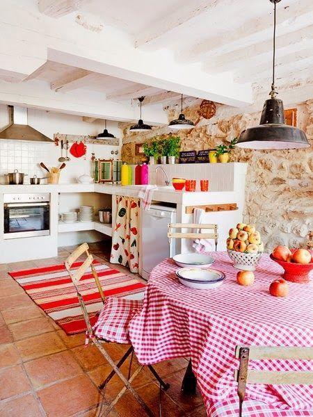 10 trucos para decorar cocinas rusticas 9