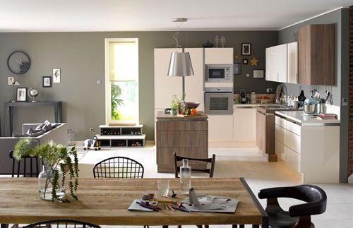 5 ideas de cocinas abiertas al comedor que te convencer n for Isletas para cocinas