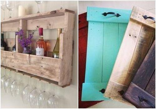 10 muebles hechos con palets para cocinas