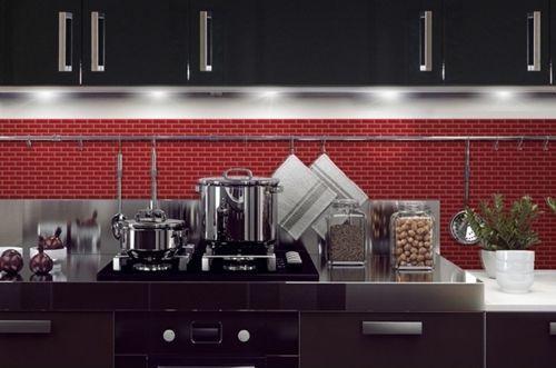 Frentes de cocina nuevos con estos azulejos adhesivos 10