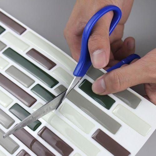 Frentes de cocina nuevos con estos azulejos adhesivos cocinas con encanto - Pegatinas para azulejos ...