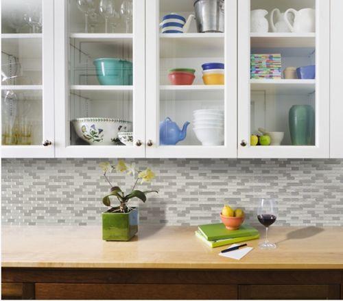 Frentes de cocina nuevos con estos azulejos adhesivos cocinas con encanto - Azulejos cocina ...