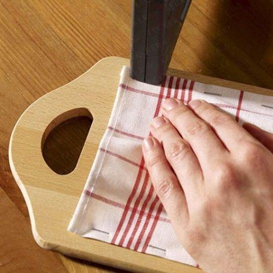 Manualidades recicladas para la cocina con tablas de - Manualidades para la casa recicladas ...