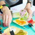 Manualidades para decorar paños de cocina, servilletas…