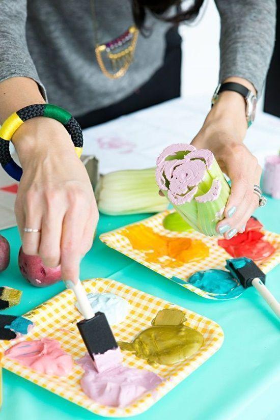 Manualidades para decorar paños de cocina, servilletas... 1