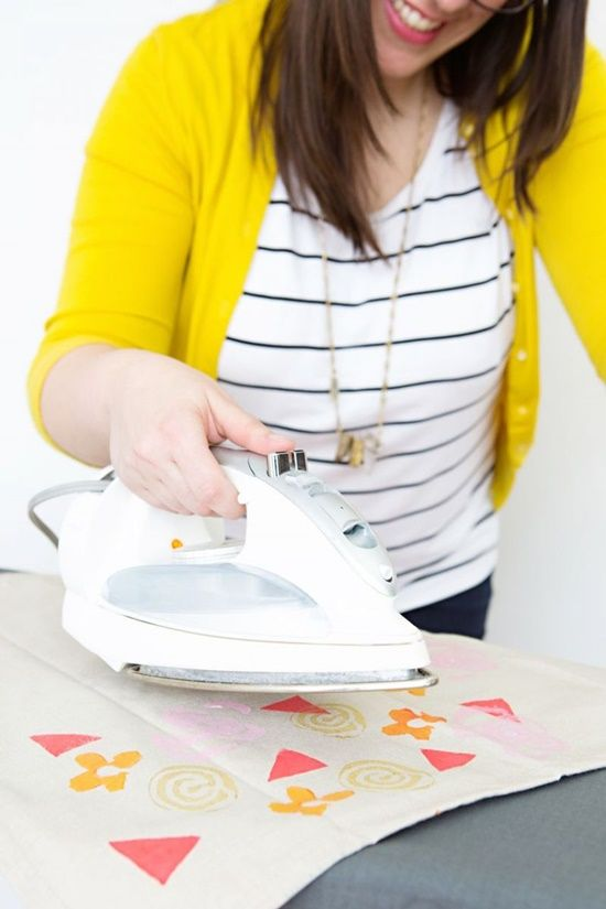 Manualidades para decorar paños de cocina, servilletas... 4