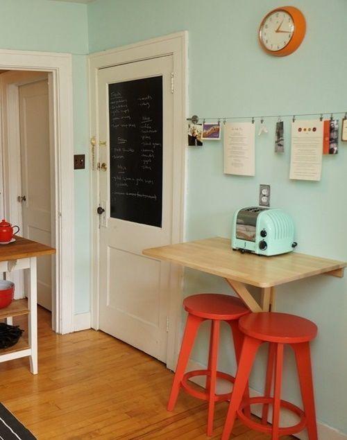 mesas para cocinas pequeñas 1