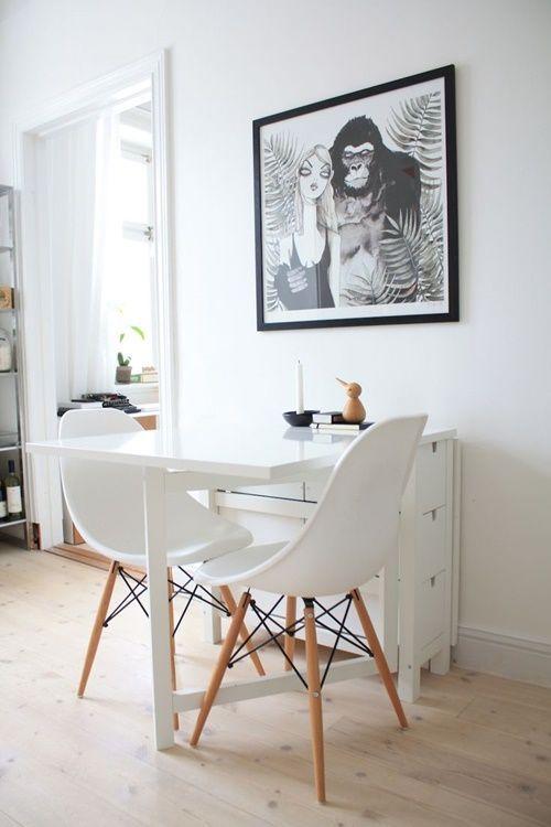 Mesas para cocinas pequeñas | cocinas con encanto