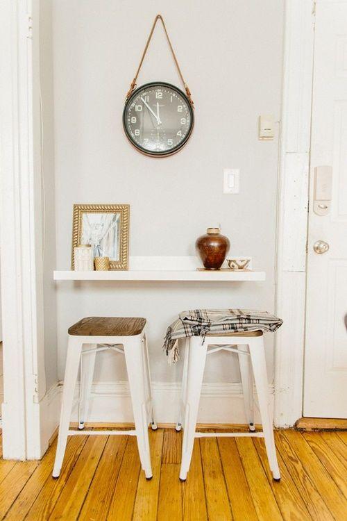 Mesas para cocinas peque as cocinas con encanto for Mesas auxiliares para cocinas pequenas