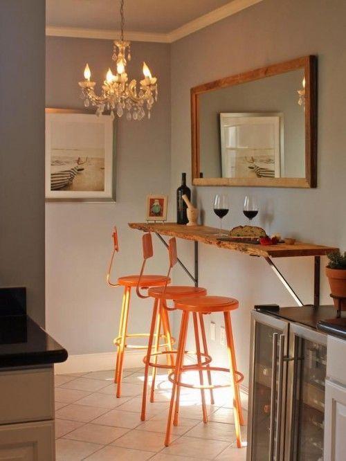 Mesas para cocinas peque as cocinas con encanto - Mesas para ordenador pequenas ...