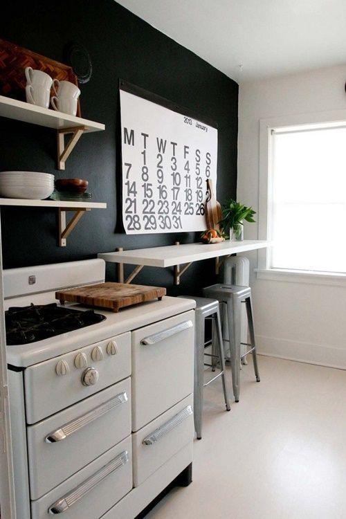 Mesas para cocinas peque as cocinas con encanto - Cocinas pequenas con encanto ...