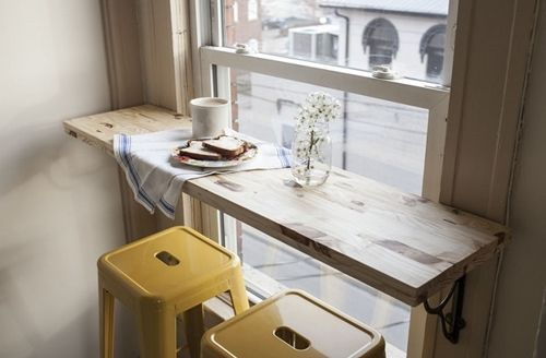mesas para cocinas pequeñas 6