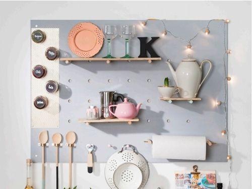 Estanterías originales para cocina DIY 1