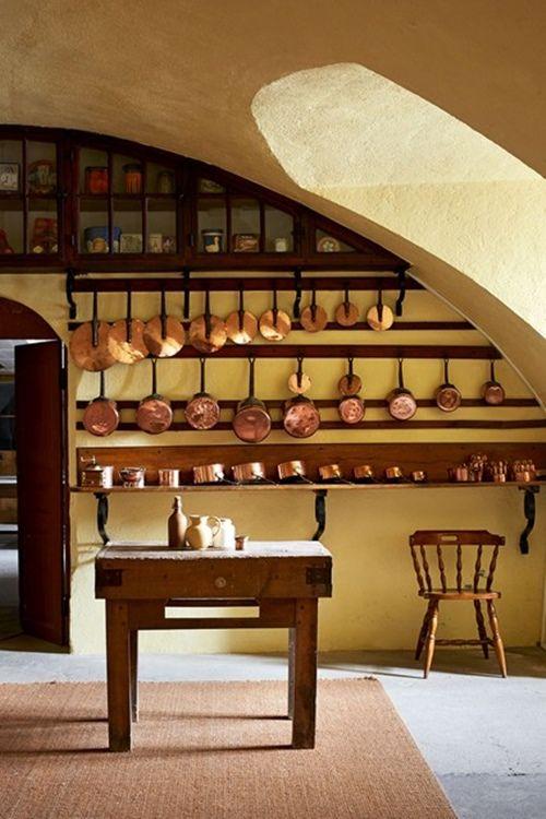 Decoración de cocinas vintage con detalles originales y sencillos 3